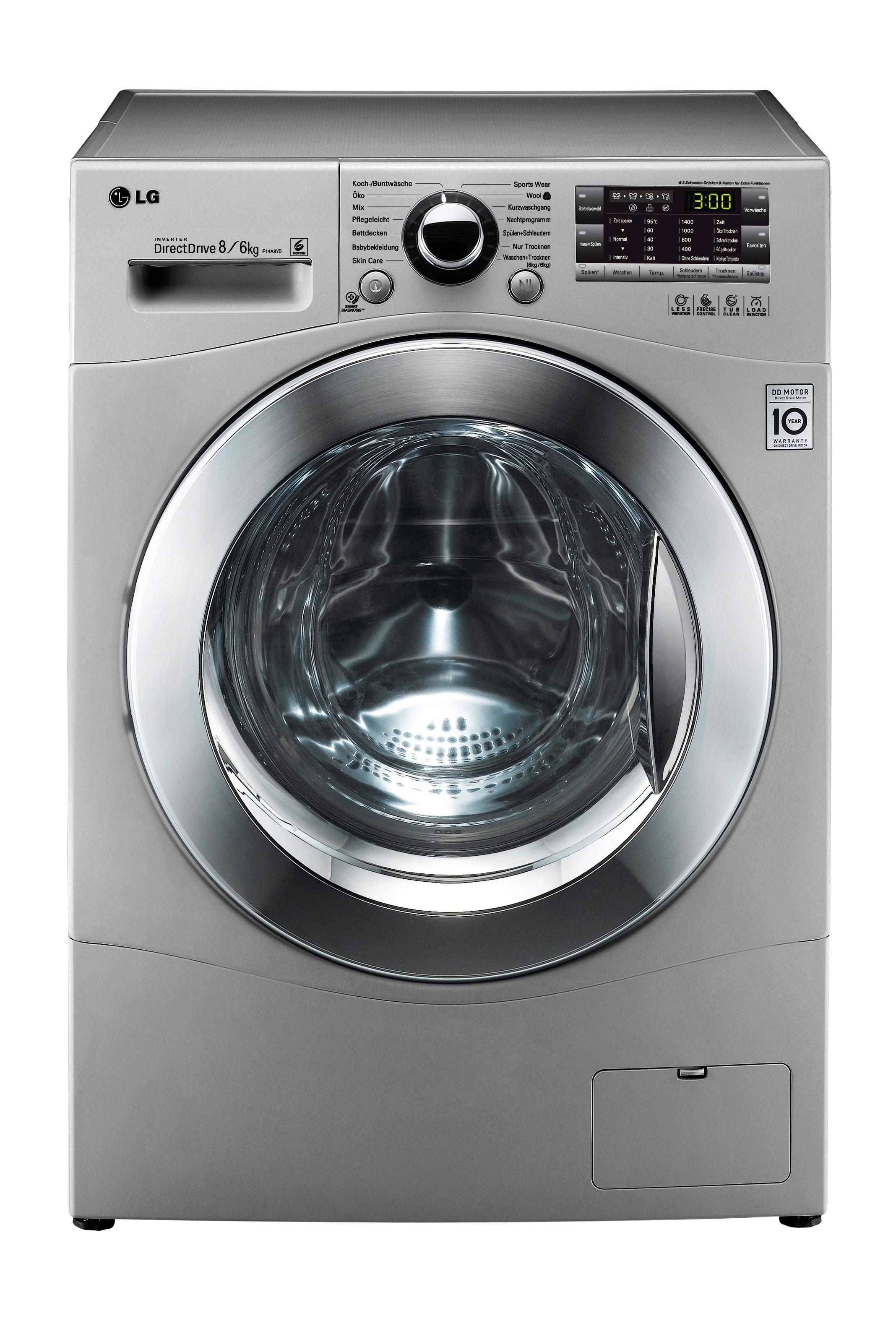 effizient sanft zur kleidung neue waschtrockner mit eco. Black Bedroom Furniture Sets. Home Design Ideas