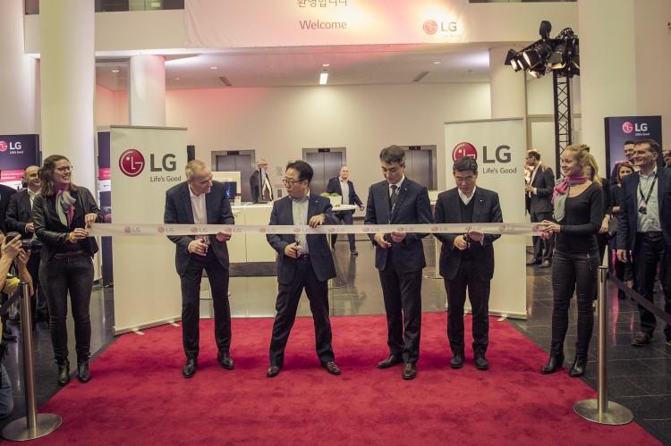 Side By Side Kühlschrank Frankfurt : Neue europazentrale von lg electronics in eschborn eröffnet das