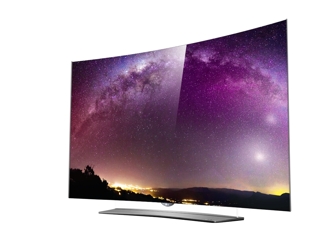 eine klasse f r sich der neue curved 4k oled tv von lg beeindruckt mit perfektem schwarz und. Black Bedroom Furniture Sets. Home Design Ideas