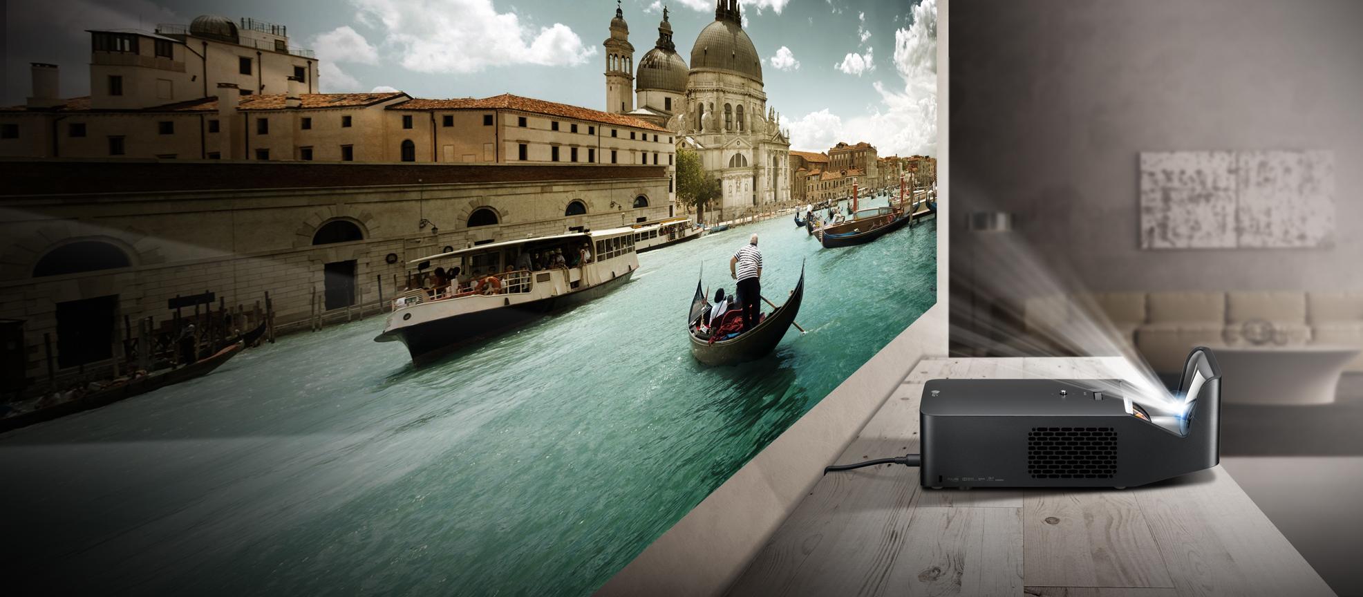 zu nah um wahr zu sein neuer ultrakurzdistanz projektor. Black Bedroom Furniture Sets. Home Design Ideas