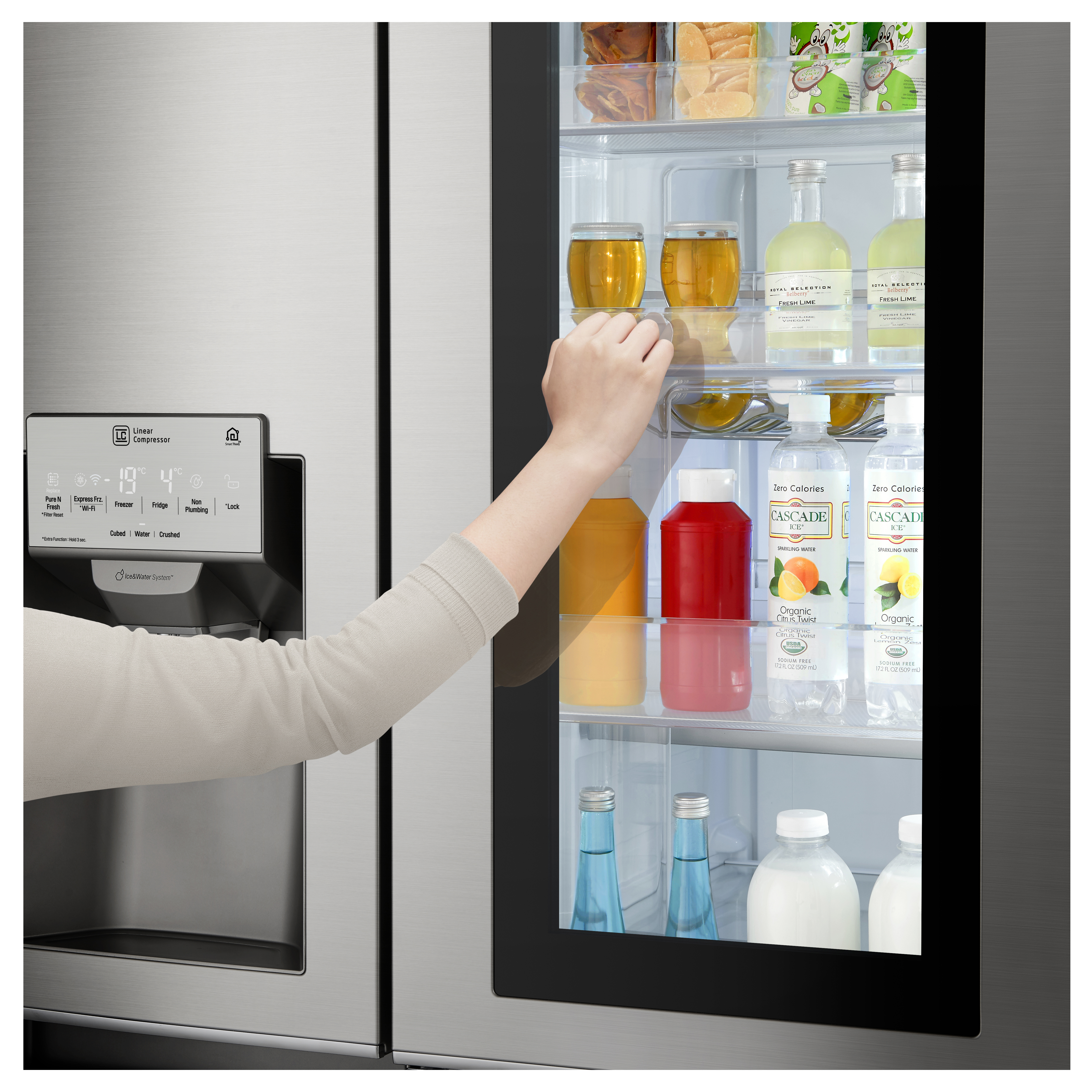 Lg Khlschrank Side By Side. Finest Lg Control Panel Dispenser With ...